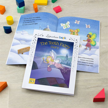 Personalised Tooth Fairy Children's Story Book