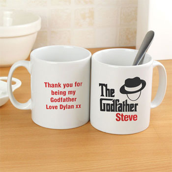 The Godfather Personalised China Mug Thank You Gift