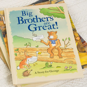 Big Brothers Are Great Personalised Children's Book