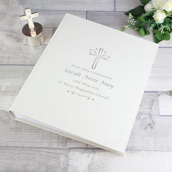 Silver Cross Personalised Christening or Communion Album