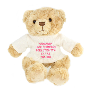 Teddy Personalised Message Bear