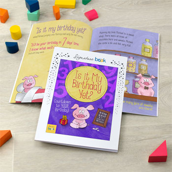 Is It My Birthday Yet? Children's Personalised Book