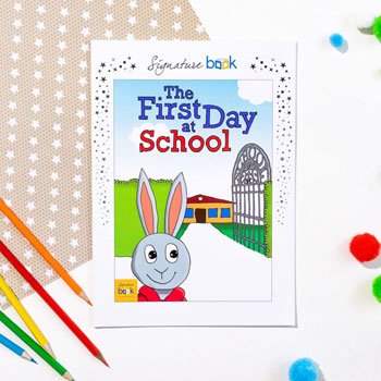 Personalised First Day at School Book