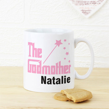 Personalised The Godmother China Mug Thank You Gift
