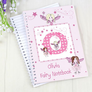 Personalised Fairy A5 Notebook