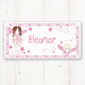 Personalised Ceramic Fairy Door Plaque