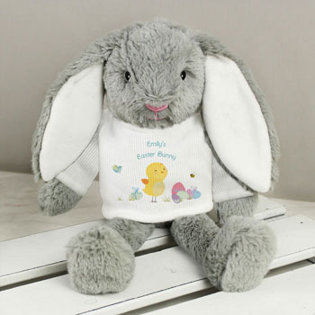 Personalised Easter Bunny Soft Toy
