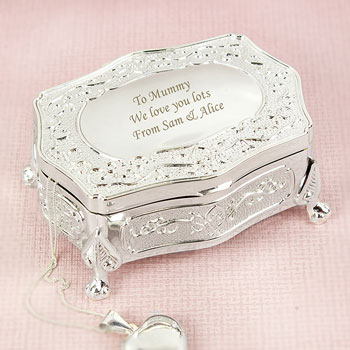 Personalised Antique Style Trinket Box