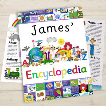 My Personalised Children's Illustrated Encyclopaedia