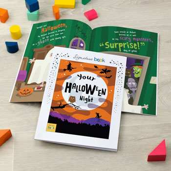 On Halloween Night Personalised Children's Story Book