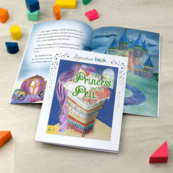Princess and the Pea Personalised Story Book