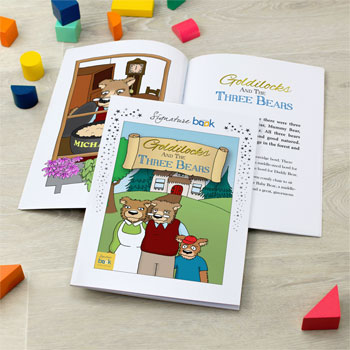 Goldilocks and the Three Bears Personalised Story Book