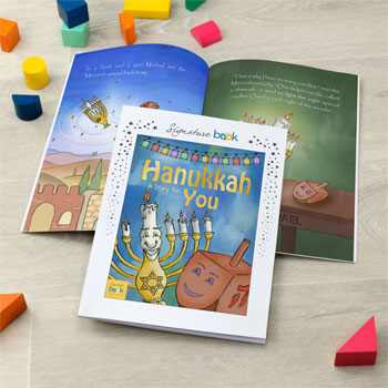 Personalised Hanukkah Children's Story Book
