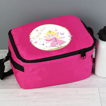 Personalised Garden Fairy Insulated Lunch Sandwich Bag