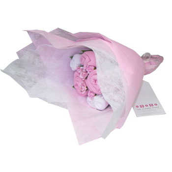 Baby Welcome Clothing Bouquet - Pink