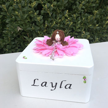 Handmade Wooden Personalised Trinket Box