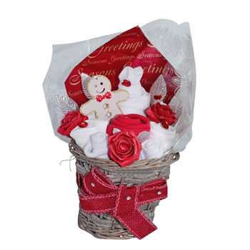 Sparkling Christmas Baby Bouquet