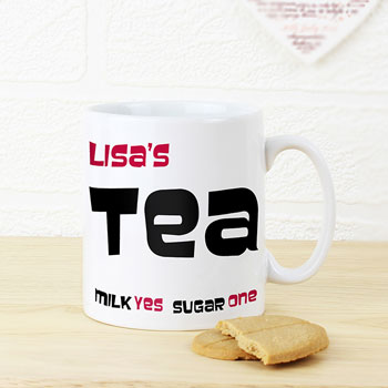 Personalised Tea Mug