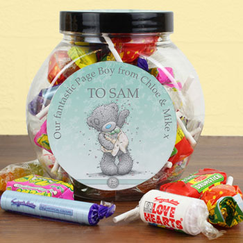 Personalised Page Boy Sweets