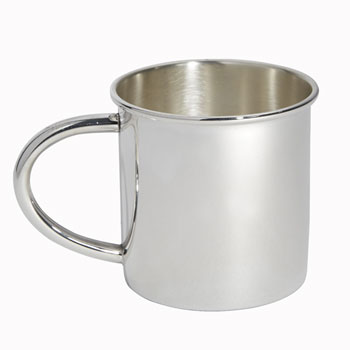 Sterling Silver Plain Handled Childs Cup by Carrs