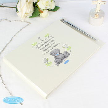 Personalised Tatty Teddy Guest Book and Pen