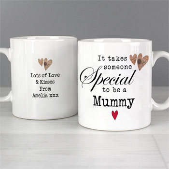 Personalised Someone Special Latte Mug Godparent Dad