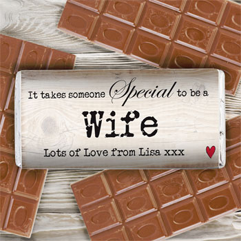Personalised Someone Special Milk Chocolate Bar Any Name
