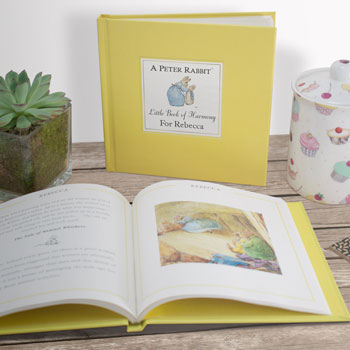 Personalised A Peter Rabbit Little Book of Harmony