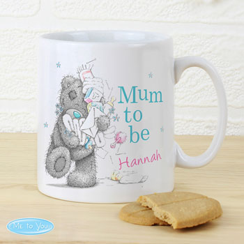 Personalised Me to You Mum to Be Ceramic Mug
