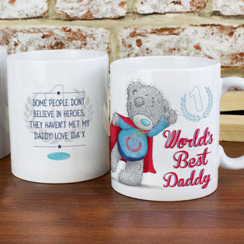 Personalised Tatty Teddy Worlds Best Mug Dad Grandad Gift
