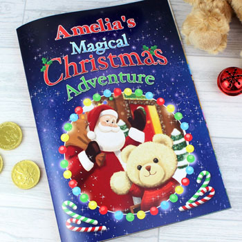 Personalised Magical Christmas Adventure Child's Story Book