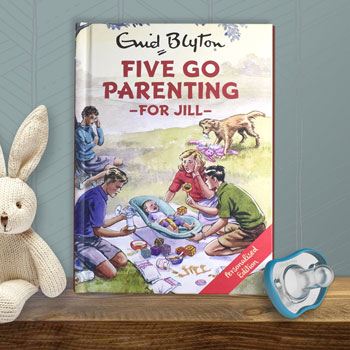 Five Go Parenting A Personalised Enid Blyton Hardback Book