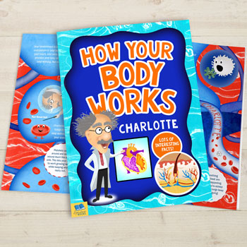 Personalised How Your Body Works Book