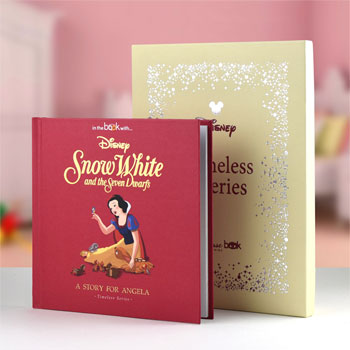Personalised Disney Snow White Hard Back Story Book