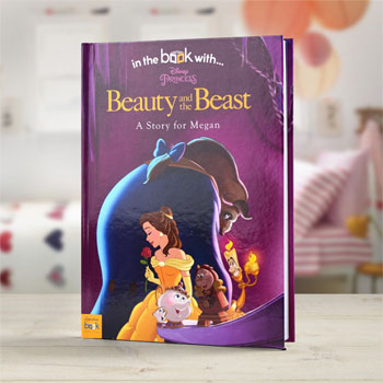 Personalised Disney Beauty and The Beast Story Book
