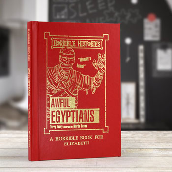 Personalised Horrible Histories Awful Egyptians Book