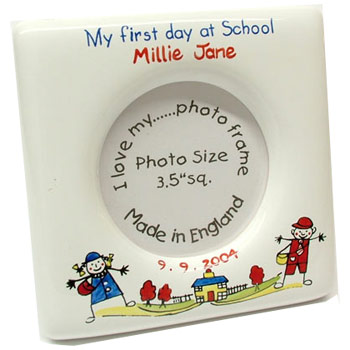 My First Day At School Photo Frame | Born Gifted