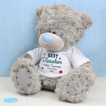 Personalised Me to You Best Teacher Teddy Nursery Teacher