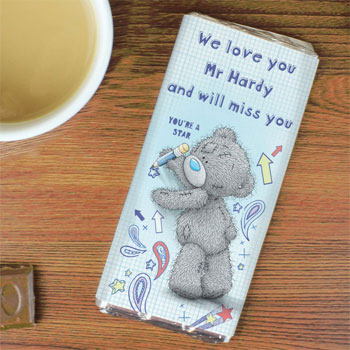 Personalised Me to You Teacher Milk Chocolate Bar Gift