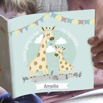 Personalised New Big Sister Story Book Big Sister Gift