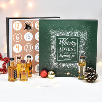 Personalised Whisky Advent Calendar Box
