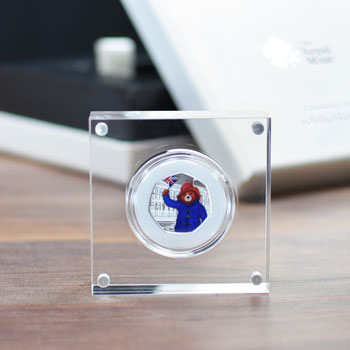 Silver Proof Paddington 50p in a Deluxe Personalised Box