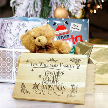 Personalised Twas the Night Before Christmas Eve Box