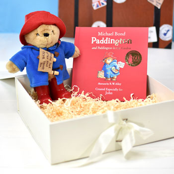 Paddington Personalised Story Book & Plush Toy Baby Gift Set