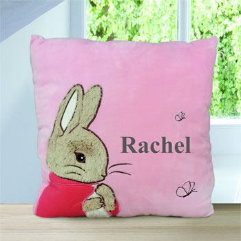Personalised Flopsy Rabbit Cushion
