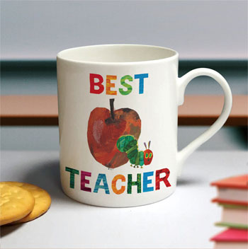 Very Hungry Caterpillar Best Teacher Personalised China Mug