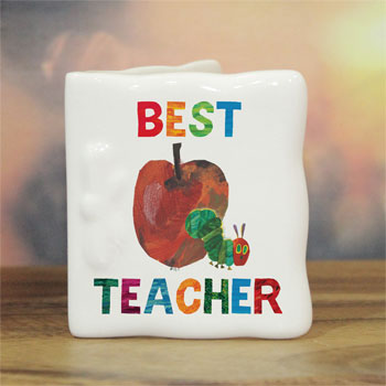 Very Hungry Caterpillar Best Teacher Personalised China Card