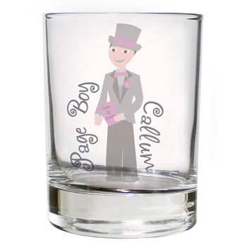 Fabulous Bridesmaid/Pageboy Juice Glass