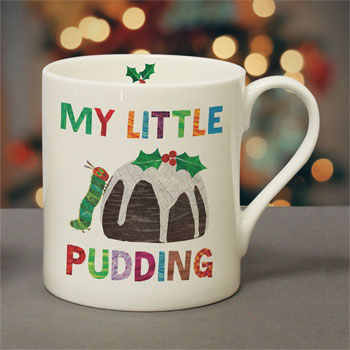 Very Hungry Caterpillar My Little Pudding Personalised Mug