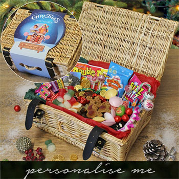 Children's Personalised Christmas Sweets Hamper